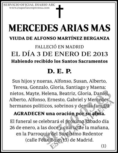 Mercedes Arias Mas